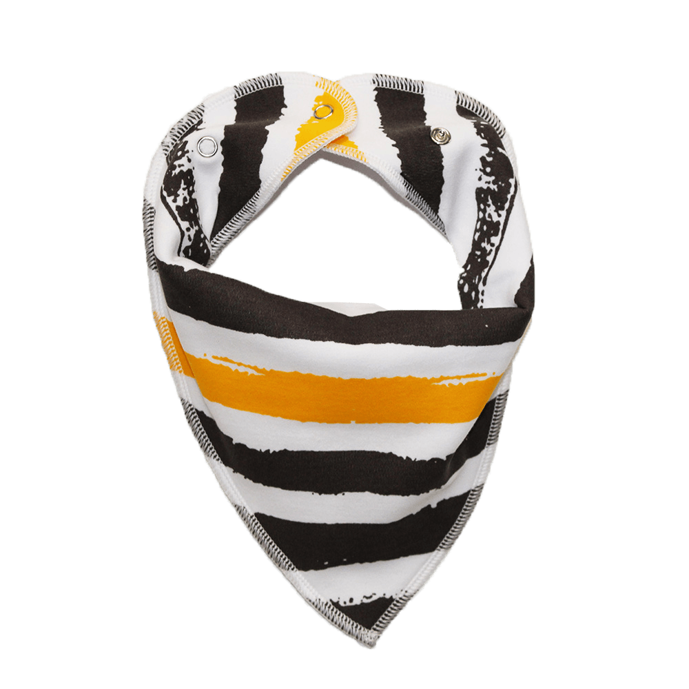 Grey stripe dog bandana