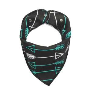 Green Arrow Print Dog Bandana
