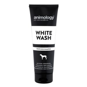 white wash dog shampoo