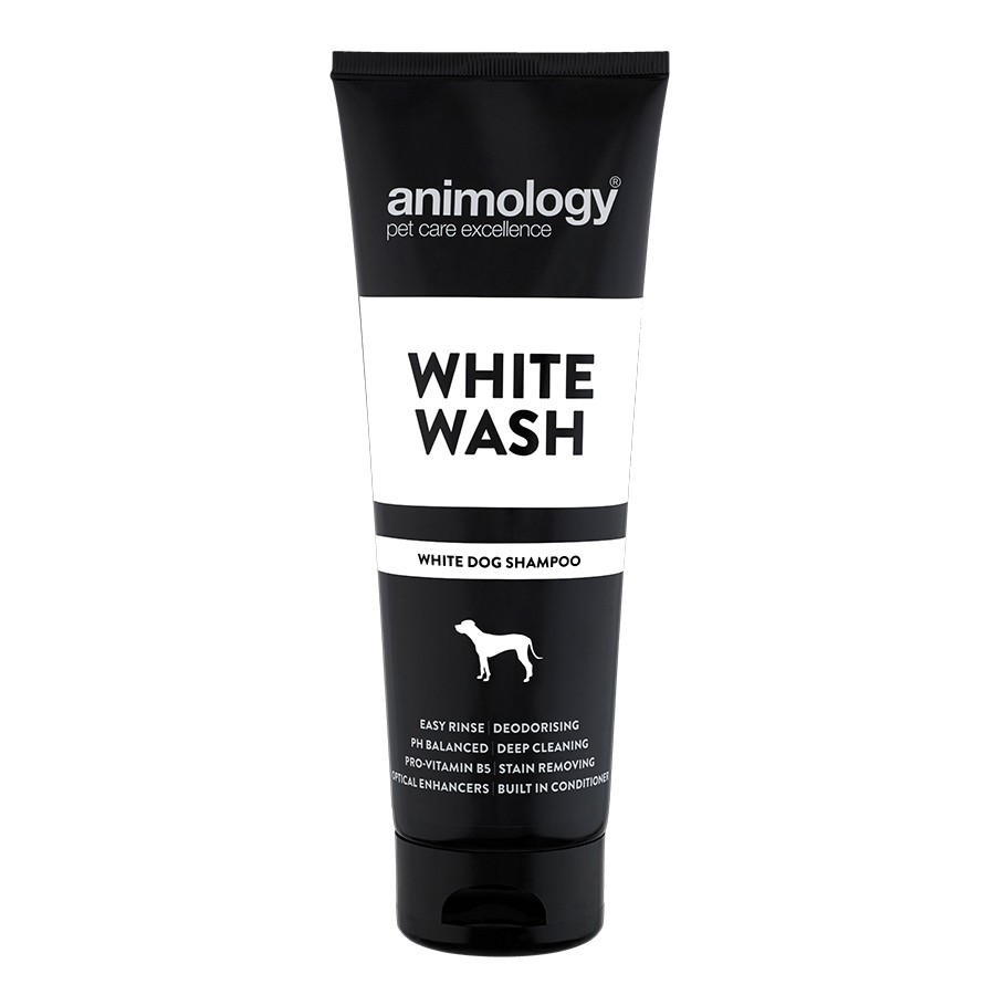 animology white wash dog shampoo