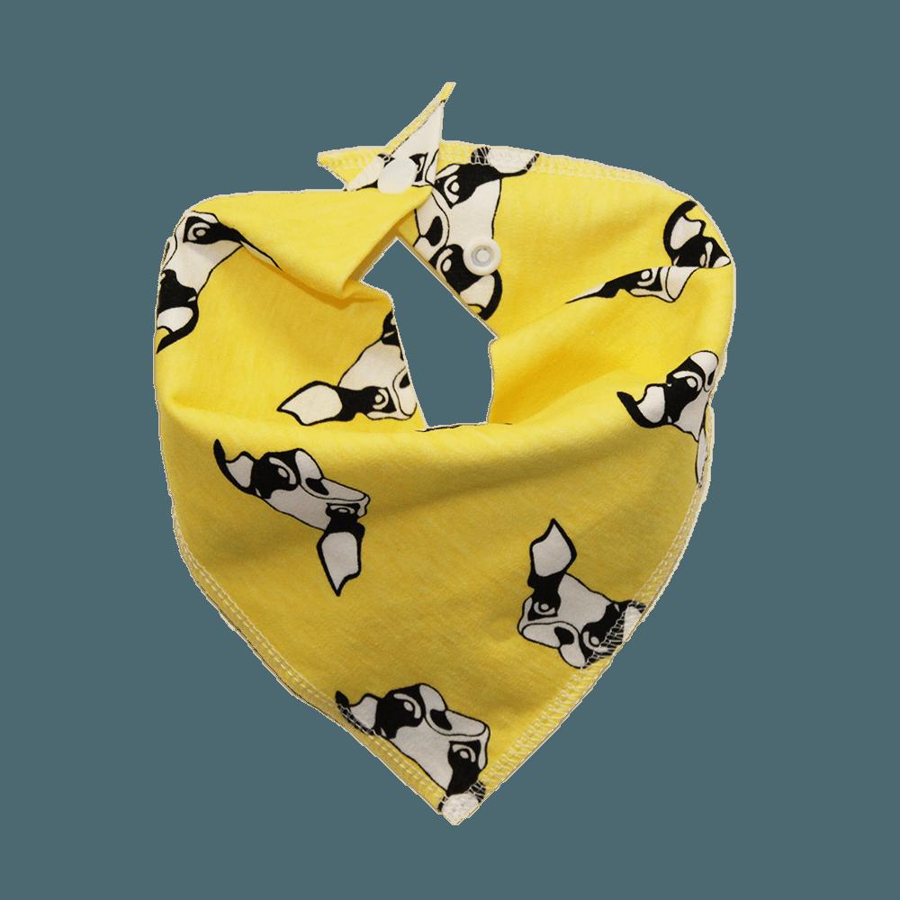 frenchie print dog bandana