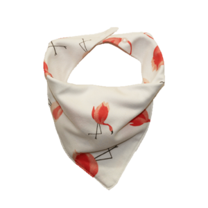 flamingo print dog bandana