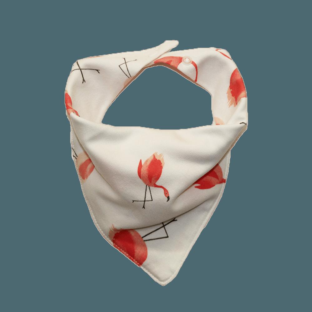 flamingo print dog bandana