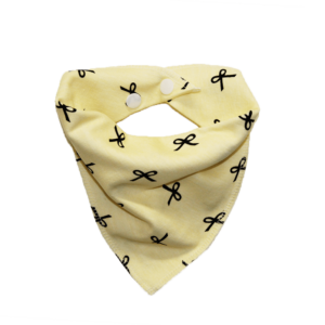 Bow Print Dog Bandana