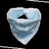 blue cloud print dog bandana