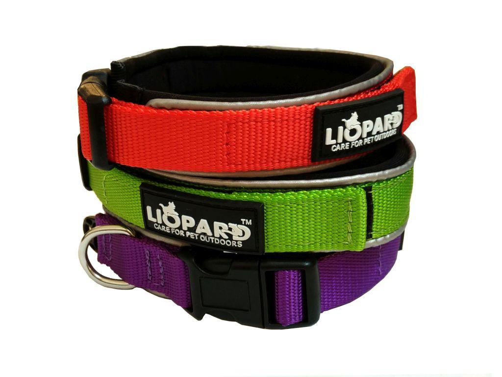Liopard_padded_nylon_collar