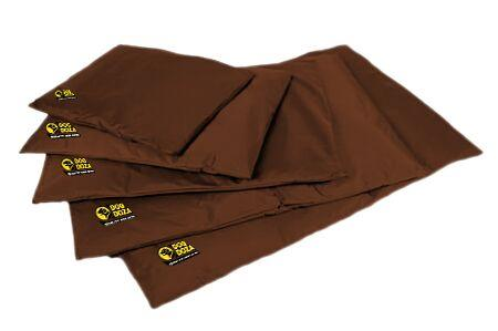dog doza travel mats brown