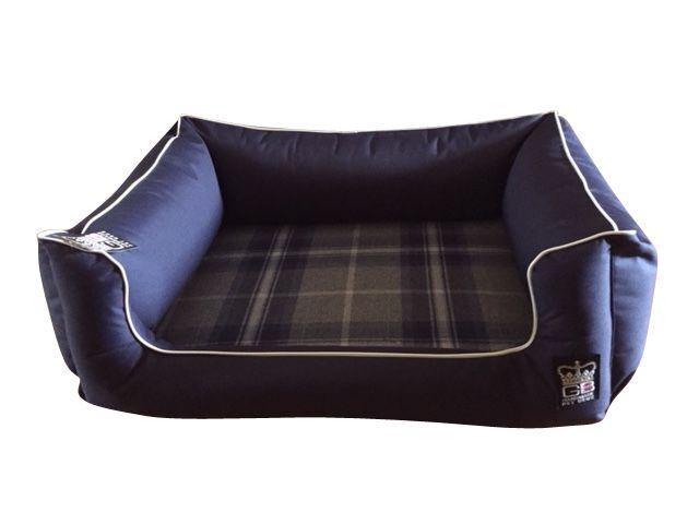 settee bed navy