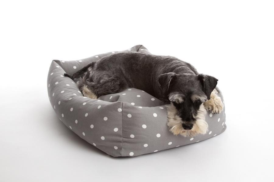 dotty smoke bolster bed 2