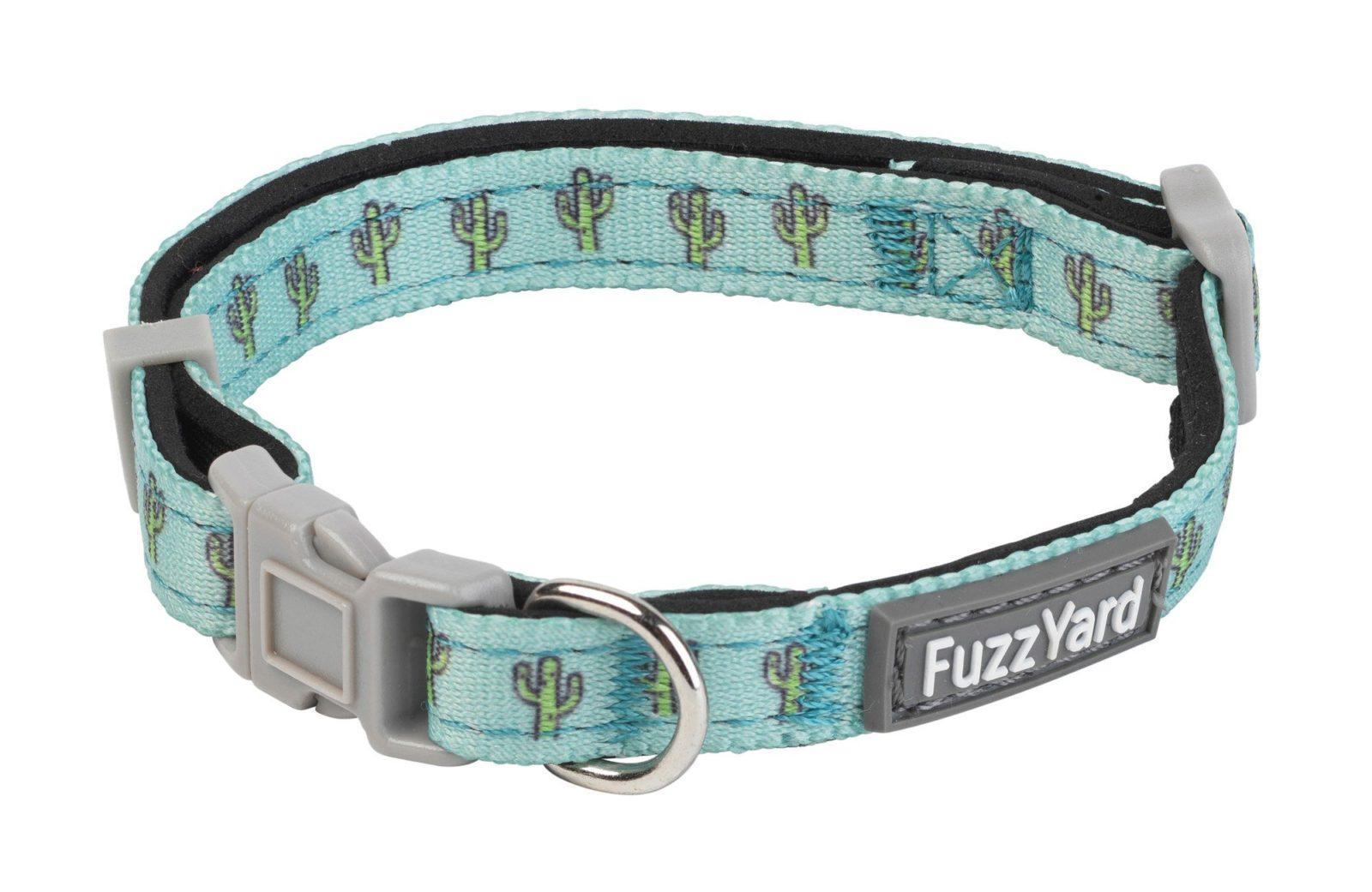 Fuzzyard Neoprene Adjustable Dog Collar with Lockable Buckle Space Raiders