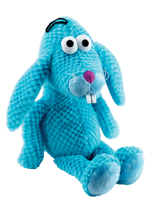 blue bunny